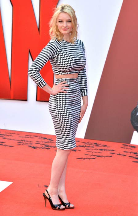 Dakota Blue Richards at the European premiere of Marvel's Ant-Man in July 2015