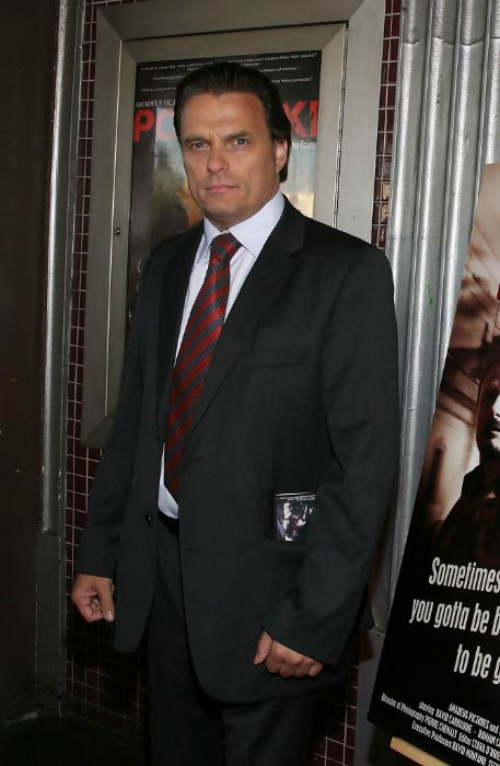 "Damian Chapa at the premiere of ""Bad Cop"" in support of David Carradine Memorial Fund in July 2009"