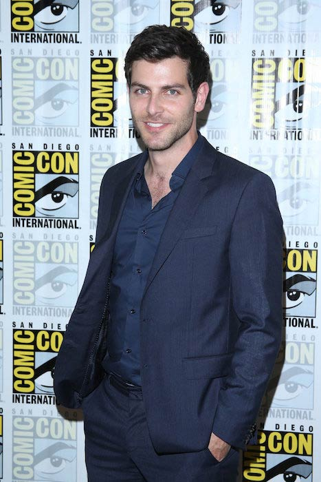 David Giuntoli at Comic-con International in San Diego in July 2014