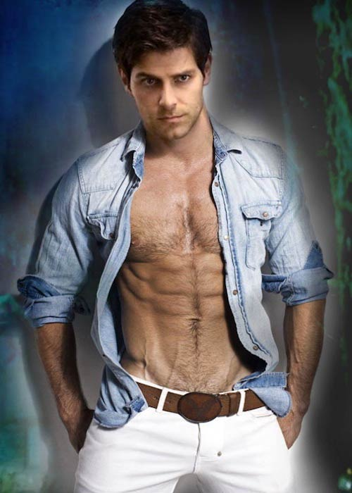 David Giuntoli shirtless in a 2014 photoshoot