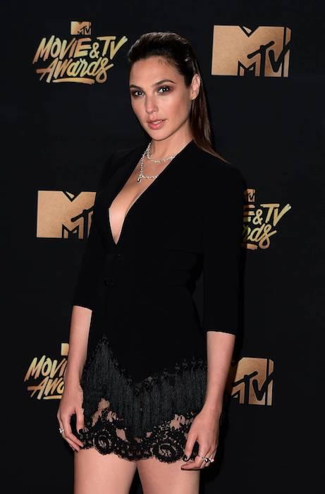 Gal Gadot at 2017 MTV Movie And TV Awards