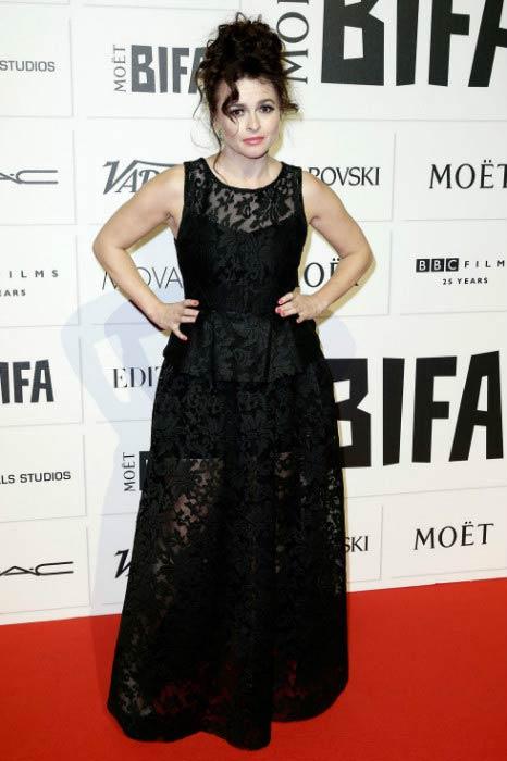 Helena Bonham Carter at the Moet British Independent Film Awards in December 2015