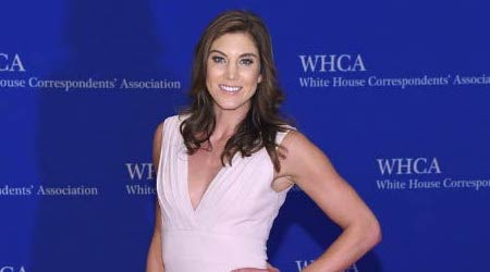 Hope Solo Height, Weight, Age, Body Statistics