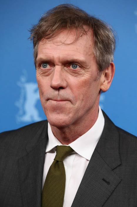 Hugh Laurie at The Night Manager premiere during the Berlinale International Film Festival Berlin in February 2016