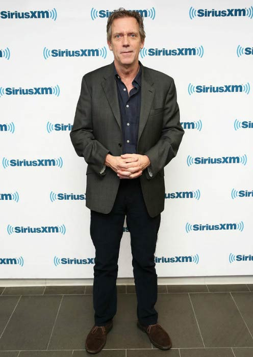 Hugh Laurie at the TimesTalks Presents: The Night Manager in April 2016