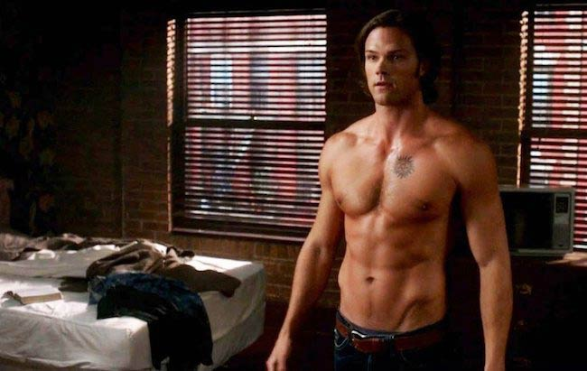 Jared Padalecki in a still from Supernatural season 6 aired in October 2010
