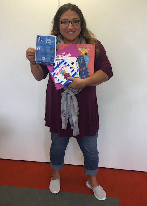 Jo Frost with books as seen in 2017