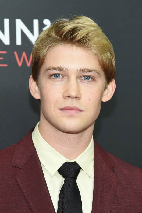 Joe Alwyn at the Billy Lynn's Long Halftime Walk premiere during 54th New York Film Festival in October 2016