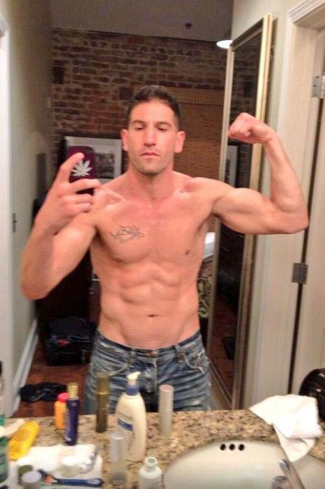 Jon Bernthal shirtless body