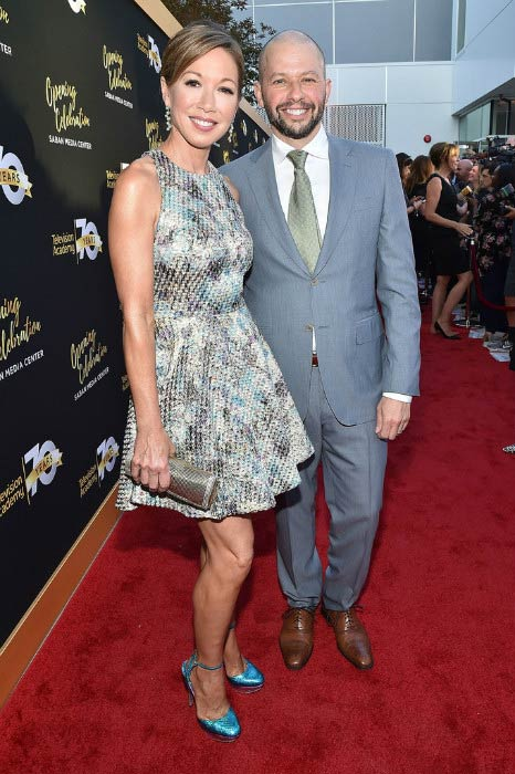 Jon Cryer and Lisa Joyner at the Television Academy's 70th Anniversary Gala in June 2016