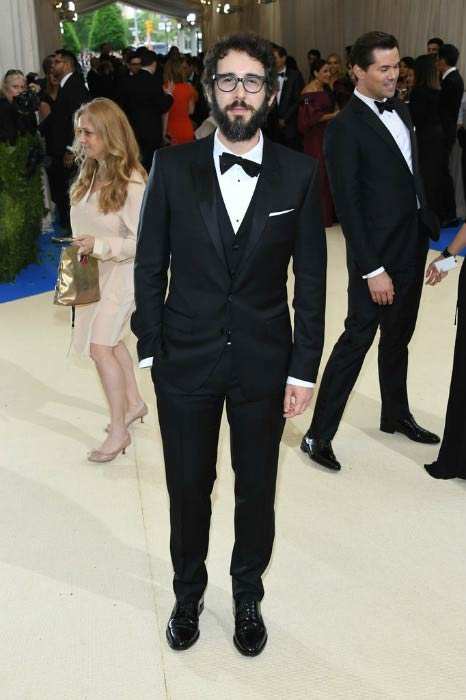 Josh Groban at the Metropolitan Museum of Art Costume Institute Gala in May 2017