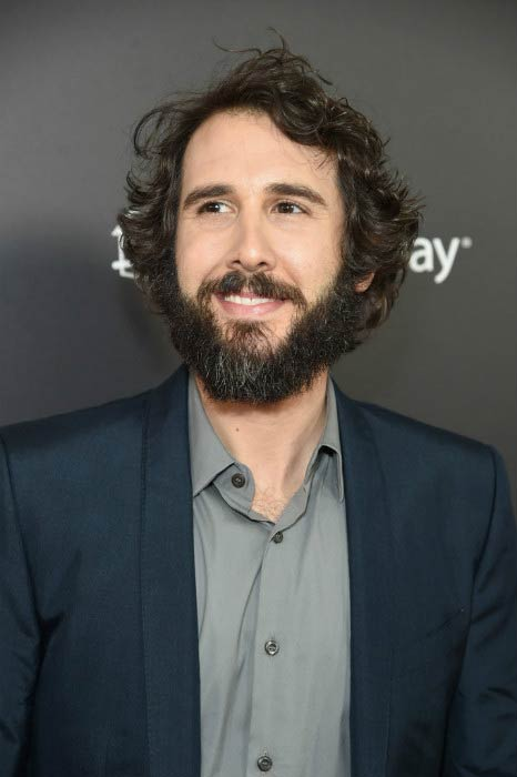 Josh Groban at the New York Screening of Beauty and the Beast in March 2017