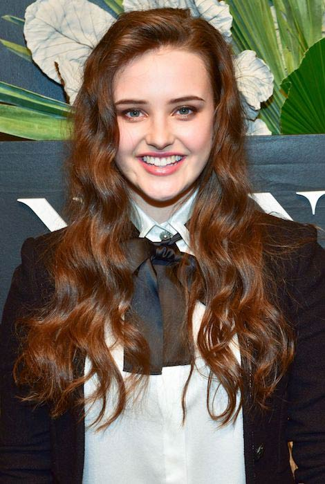 Katherine Langford at ELLE, E! and IMG New York Fashion Week in a February 2017 Kick-Off Event