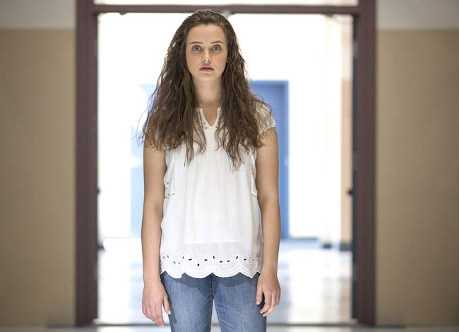 """Katherine Langford in a still from """"13 Reasons Why"""""""