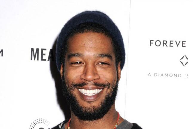 Kid Cudi at the Meadowland New York Premiere in October 2015