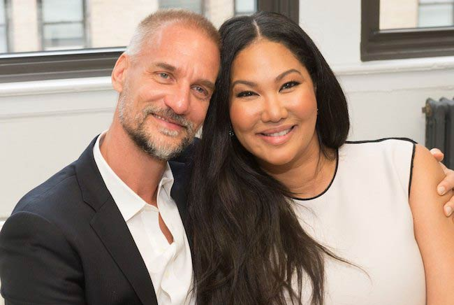 Kimora Lee Simmons with Tim Leissner in 2015