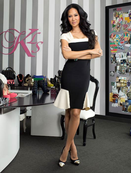 Kimora Lee Simmons in a photoshoot shot in 2013