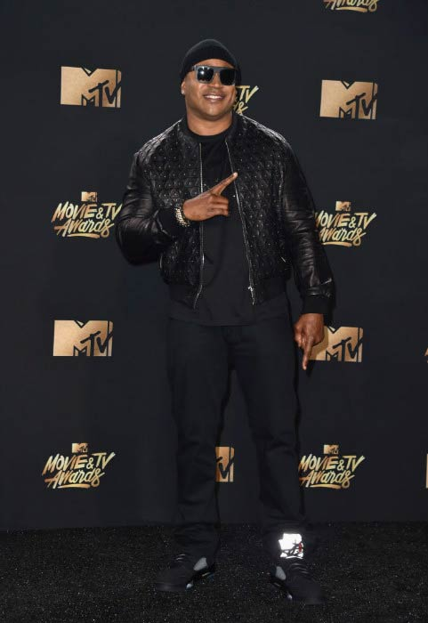 LL Cool J at the MTV Movie And TV Awards in May 2017