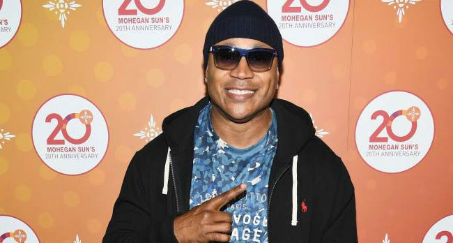 LL Cool J at the Mohegan Sun's 20th Anniversary Party in October 2016
