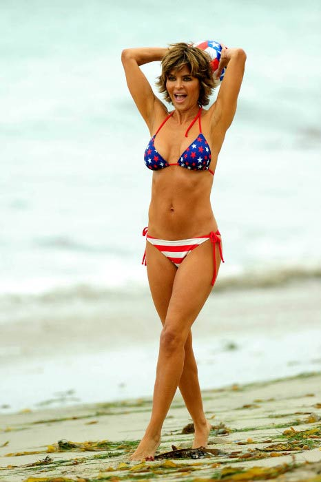 Lisa Rinna Poses For A Photoshoot In 2017