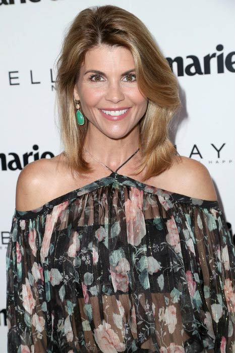 Lori Loughlin at the Marie Claire's Fresh Faces celebration in April 2017