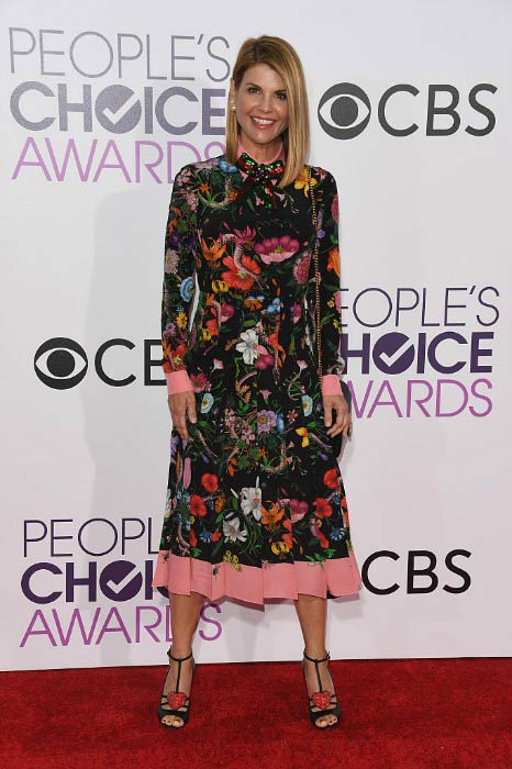 Lori Loughlin at the People's Choice Awards in January 2017