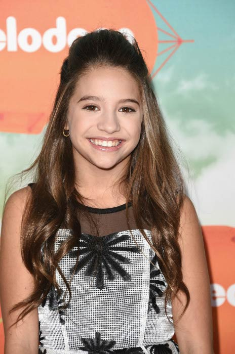 Mackenzie Ziegler at the Nickelodeon's Kids' Choice Awards in March 2016