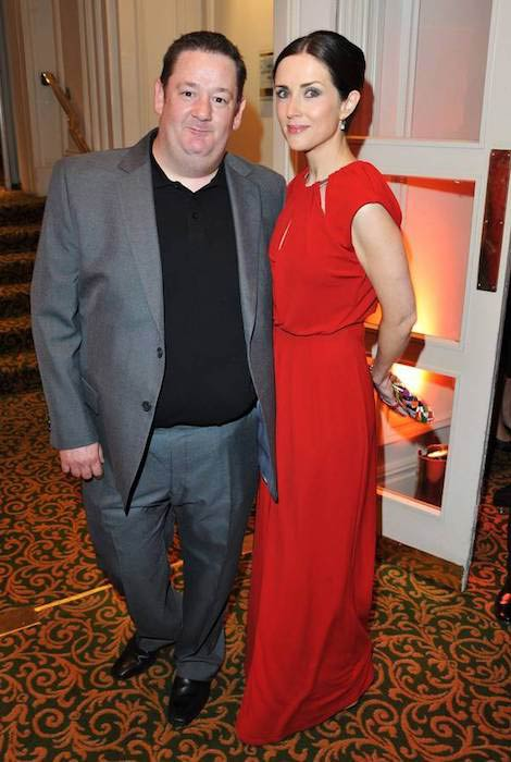 Maia Dunphy and husband Johnny Vegas