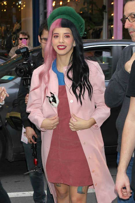 Melanie Martinez out and about in NYC in March 2016