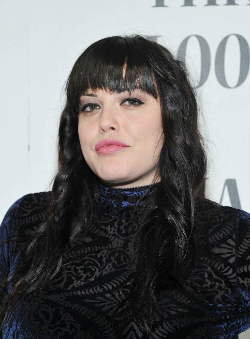 Mia Tyler at the Art Photography of Mia Tyler exhibit in February 2012