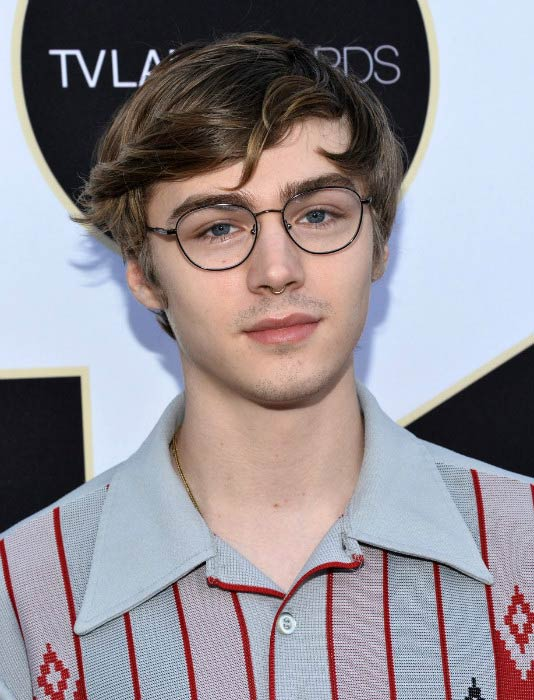 Miles Heizer at the TV Land Awards in April 2015