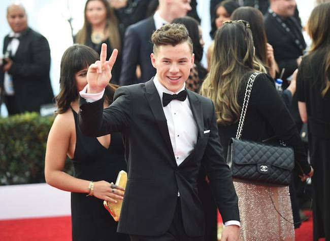 Nolan Gould at the 2017 Screen Actors Guild Awards