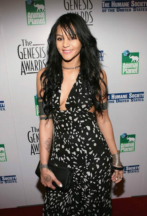 Persia White at the 20th Anniversary Genesis Awards in March 2006