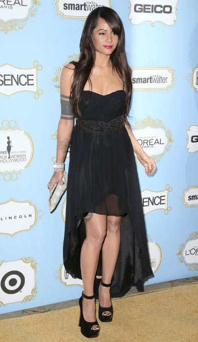 Persia White at the Sixth Annual ESSENCE Black Women in February 2013