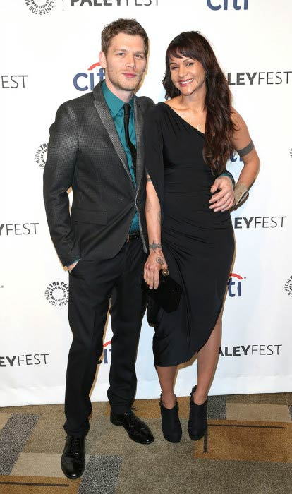 Persia White boyfriend Joseph Morgan The Vampire Diaries' Honored at PaleyFest event in March 2014