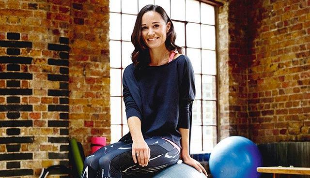 Pippa Middleton in the fitness studio