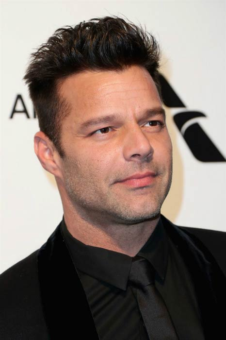Ricky Martin at the 2017 Elton John AIDS Foundation's Academy Awards Viewing Party