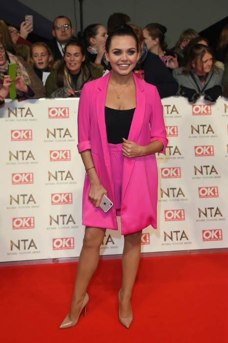 Scarlett Moffatt at the National Television Awards in January 2017