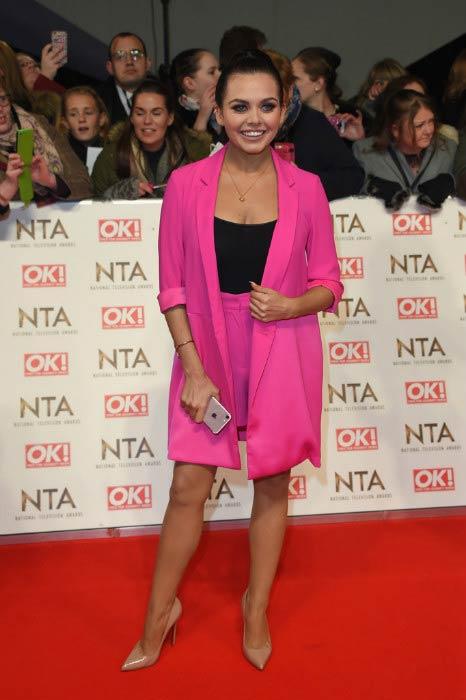 Scarlett Moffatt at the National Television Awards in January 2017