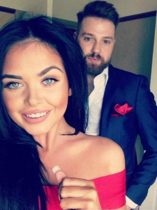 Scarlett Moffatt and Luke Crodden in a social media picture posted in 2016