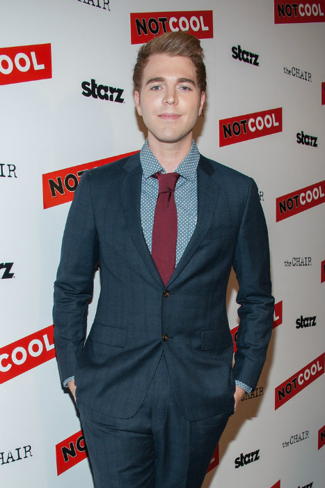 Shane Dawson at the premiere of Starz Digital Media's Not Cool in September 2014