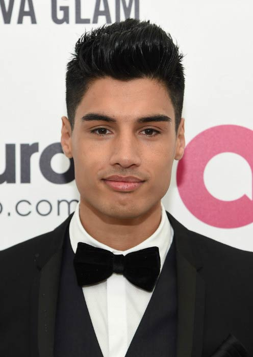 Siva Kaneswaran at the Elton John AIDS Foundation Academy Awards Viewing Party in February 2015