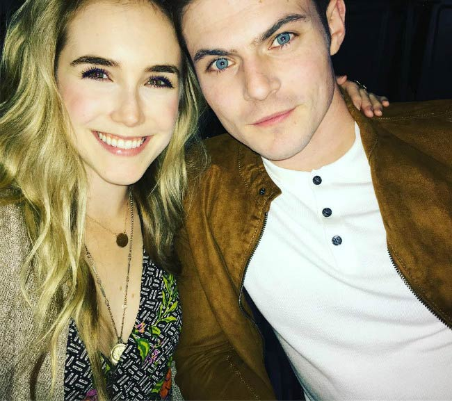 Spencer Locke and Chris Mason in a picture shared on social media in 2016