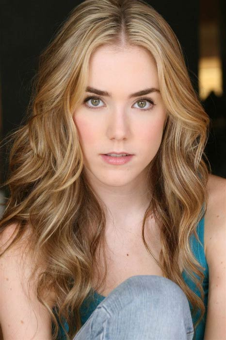Spencer Locke in a modeling photoshoot done in 2014