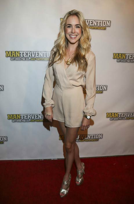 Spencer Locke at the premiere of Mantervention in July 2014