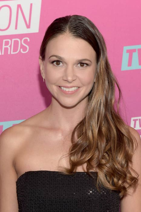 Sutton Foster at the TV Land Icon Awards in April 2016