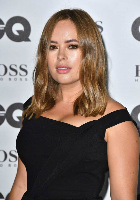 Tanya Burr at the GQ Men Of The Year Awards in September 2016