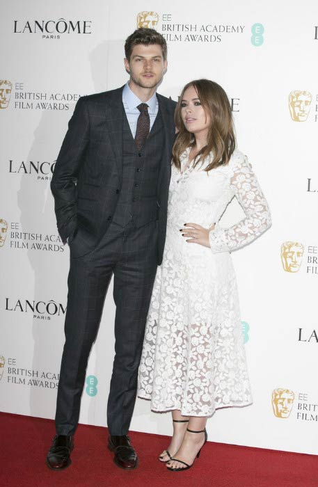 Tanya Burr and Jim Chapman at the Lancome BAFTA nominees party in February 2016