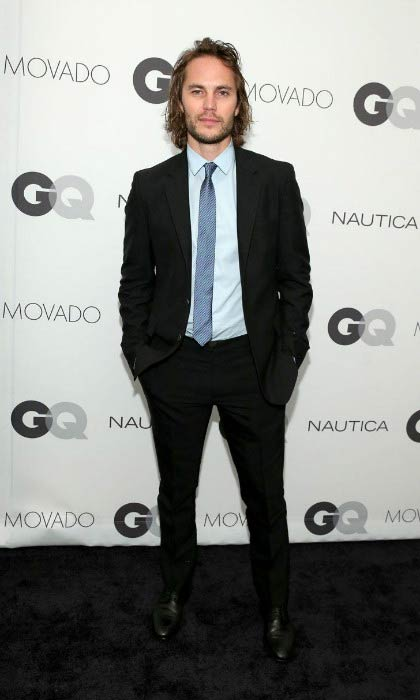 Taylor Kitsch at the GQ Gentlemen's Ball in October 2014