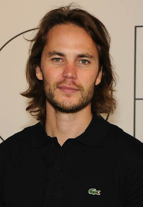 Taylor Kitsch at the GQ X Lacoste Celebrate Sport pop-up shop opening in October 2014